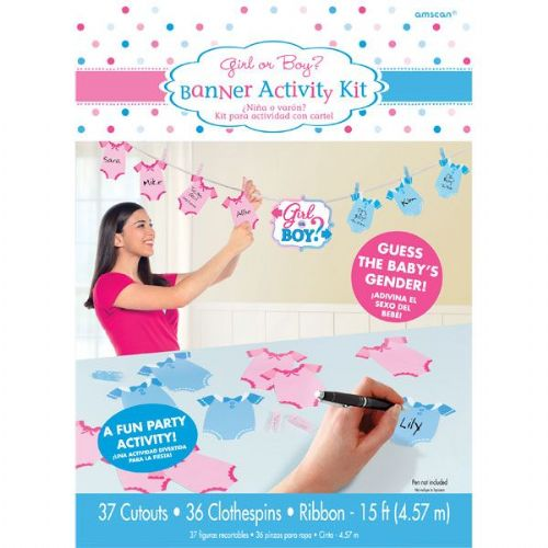 Gender Reveal Activity Game (36pk)
